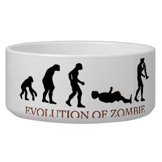 Evolución del zombi tazones para perrros