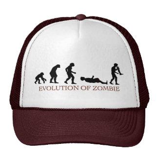 Evolución del zombi gorras de camionero