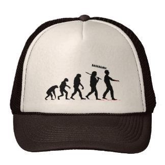 Evolución del zombi gorros