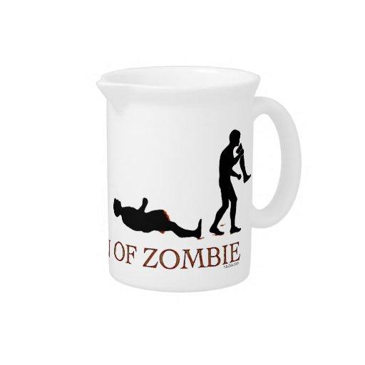 Evolución del zombi jarrones