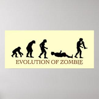 Evolución del zombi posters
