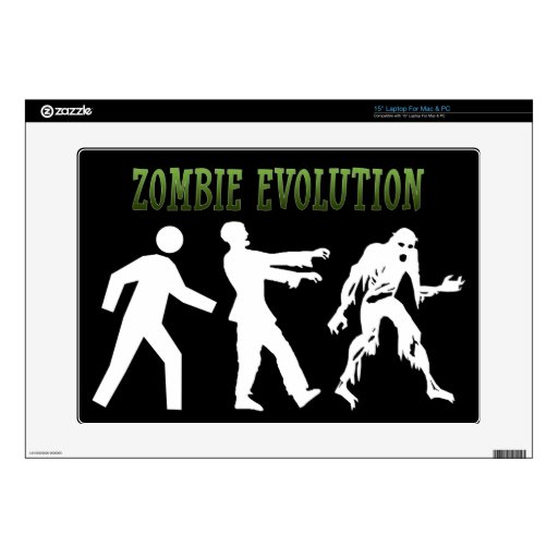Evolución del zombi skins para portátil