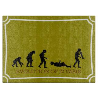 Evolución del zombi tabla de cortar
