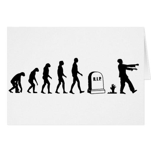 Evolución del zombi tarjetas