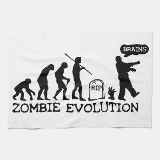 Evolución del zombi toallas
