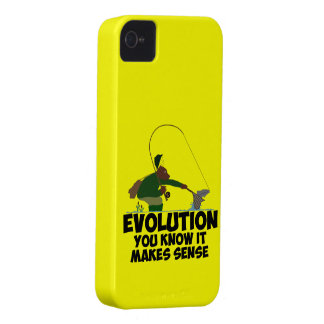 Evolución divertida iPhone 4 funda
