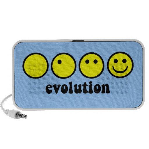 evolución divertida portátil altavoz
