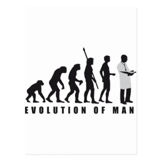 Evolución doctora tarjetas postales
