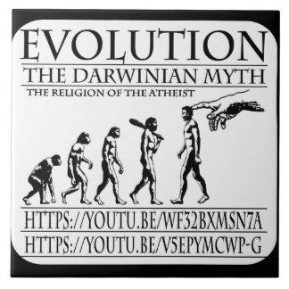 EVOLUCIÓN, EL MITO DARVINISTA. VIVIMOS EN UN MUNDO AZULEJO CUADRADO GRANDE