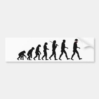 Evolución - extranjero pegatina para auto