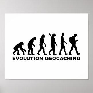 Evolución Geocaching Póster