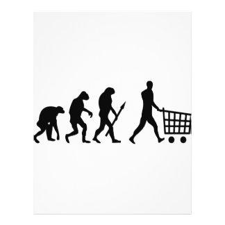 evolución humana de las compras tarjetones
