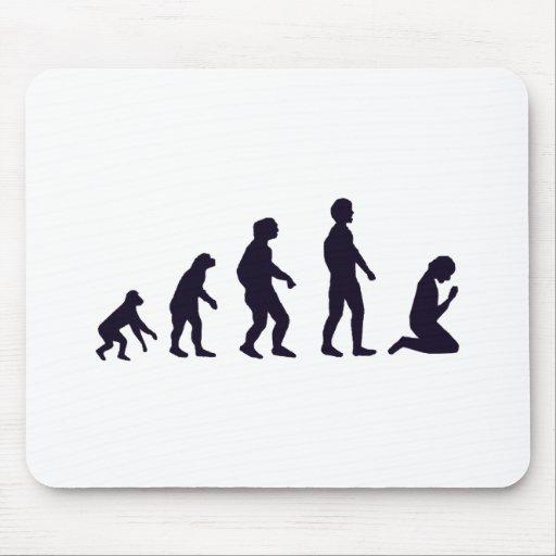 EVOLUCIÓN HUMANA, figuras, regalos Tapetes De Ratón