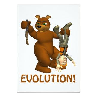 """Evolución Invitación 5"""" X 7"""""""