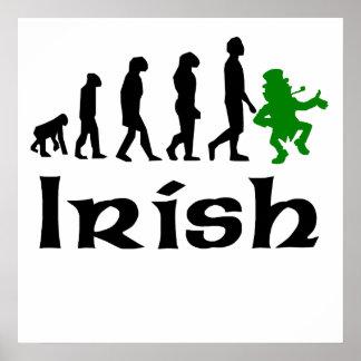 Evolución irlandesa del Leprechaun Impresiones