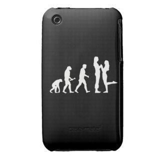 Evolución lesbiana de la boda - iPhone 3 Case-Mate funda