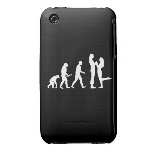 Evolución lesbiana de la boda - iPhone 3 cárcasas