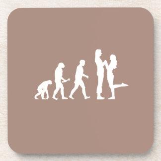 EVOLUCIÓN LESBIANA DE LA BODA - .PNG POSAVASOS DE BEBIDAS