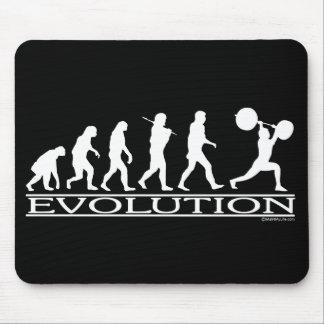 Evolución - levantador de peso tapetes de raton