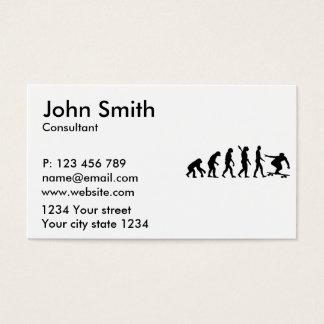Evolución Longboard Tarjetas De Visita