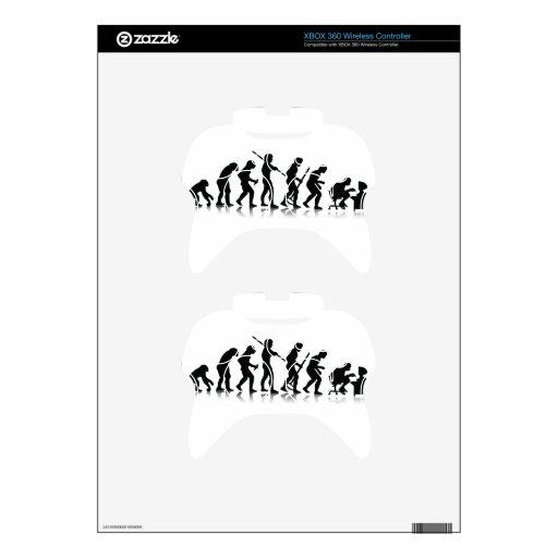 Evolución Mando Xbox 360 Calcomanía