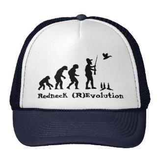 Evolución o revolución del campesino sureño gorro de camionero
