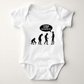 ¡evolución - pare el seguir de mí! body para bebé