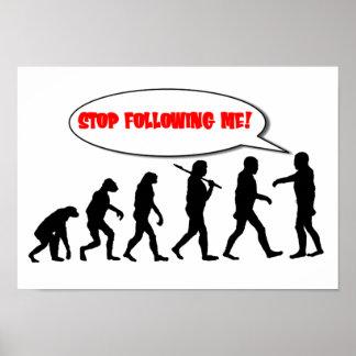 Evolución Pare el seguir de mí Impresiones