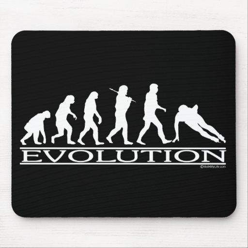Evolución - patinaje de velocidad mousepad