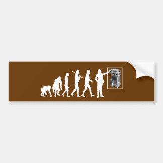 Evolución Rockhound de la geología de los geólogos Etiqueta De Parachoque