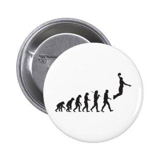 Evolución - salto del baloncesto pins