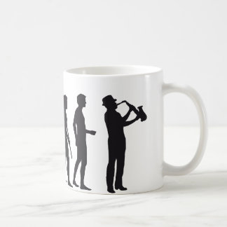 Evolución saxophon taza clásica
