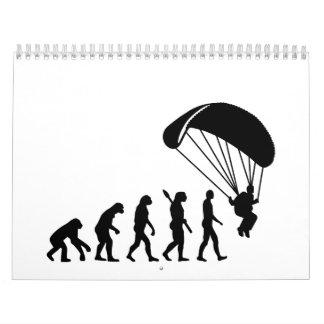 Evolución Skydiving Calendarios