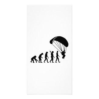 Evolución Skydiving Tarjeta Fotografica