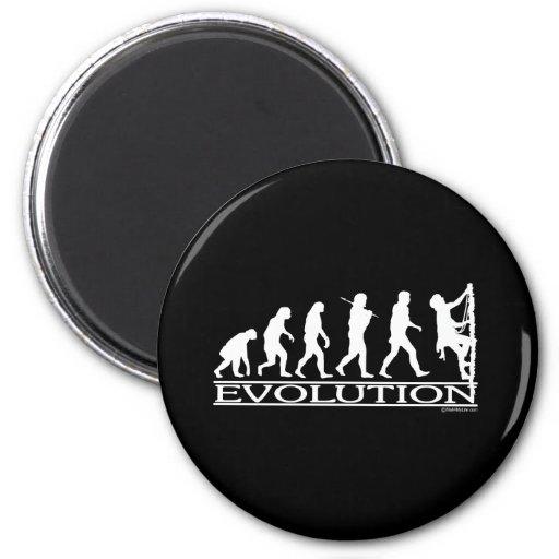 Evolución - subiendo imán redondo 5 cm