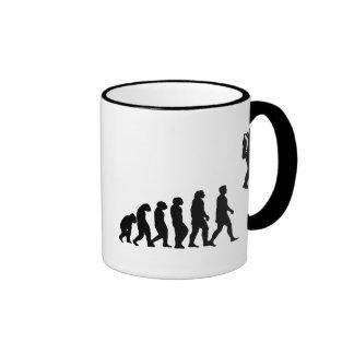Evolución Taza De Café