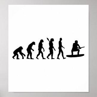 Evolución Wakeboarding Posters