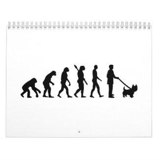 Evolución Westie Calendarios De Pared