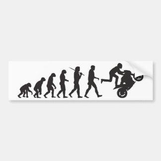 Evolución - Wheelie Pegatina Para Auto