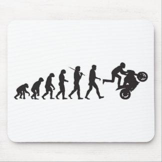 Evolución - Wheelie Alfombrilla De Ratones