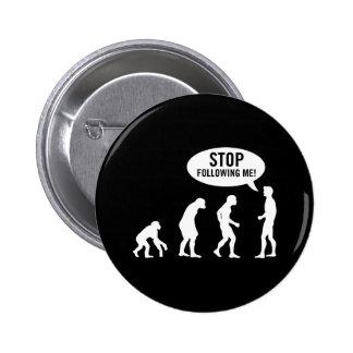 evolution2 pinback button