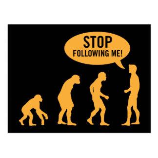 evolution3 postcard