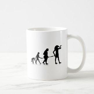 Evolution_12 humano tazas