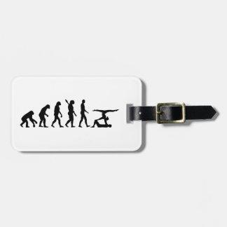 Evolution Acrobatics Luggage Tag