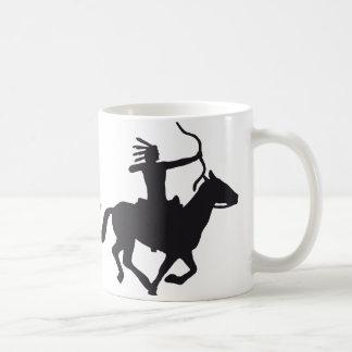evolution amerindian coffee mug