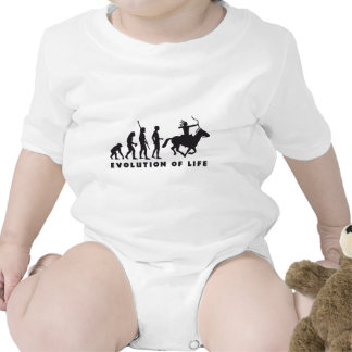 evolution amerindian tee shirts