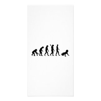 Evolution Baby Card