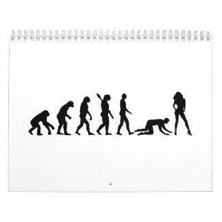Evolution Bachelor party Wedding Calendar