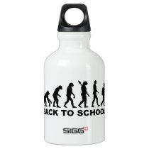 Evolution Back to school Aluminum Water Bottle