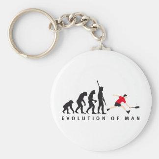 evolution badminton llavero redondo tipo pin